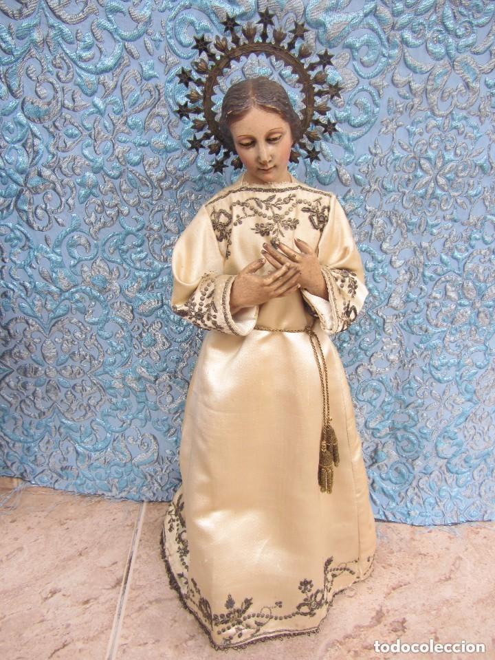 VIRGEN DOLOROSA CAP I POTA XIX (Arte - Arte Religioso - Escultura)