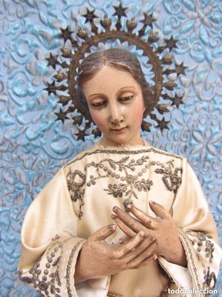 Arte: Virgen Dolorosa Cap I Pota XIX - Foto 2 - 116979471