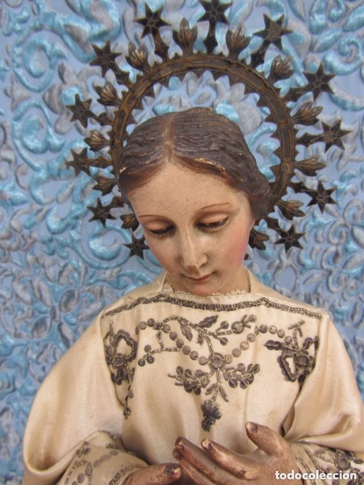 Arte: Virgen Dolorosa Cap I Pota XIX - Foto 3 - 116979471