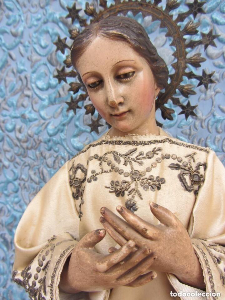 Arte: Virgen Dolorosa Cap I Pota XIX - Foto 4 - 116979471