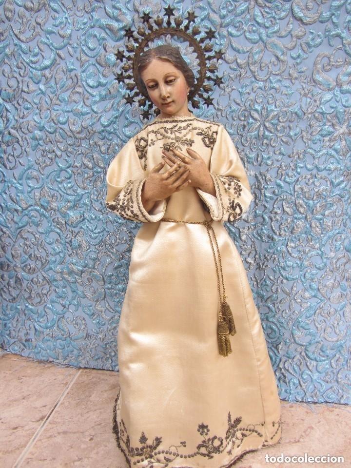 Arte: Virgen Dolorosa Cap I Pota XIX - Foto 15 - 116979471