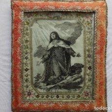 Arte: LIBRERIA GHOTICA. MARAVILLOSO EXVOTO DEL SIGLO XVIII DE SANTA TERESA EN PLATA Y FILIGRANA DE TELA. Lote 117043415
