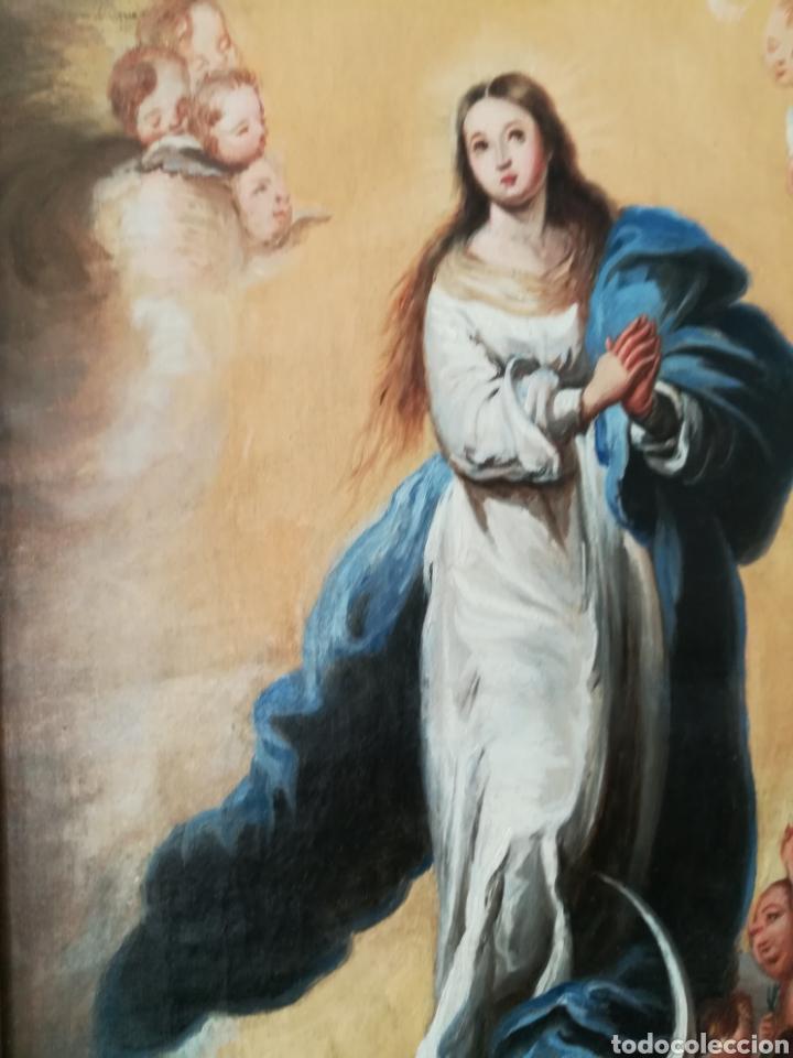 INMACULADA DEL SIGLO XIX. (Arte - Arte Religioso - Pintura Religiosa - Oleo)