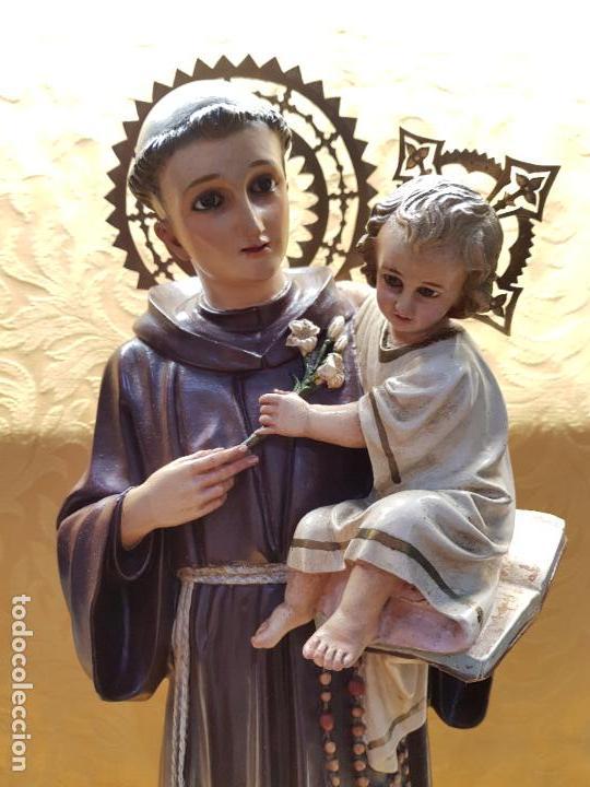 SAN ANTONIO (Arte - Arte Religioso - Escultura)