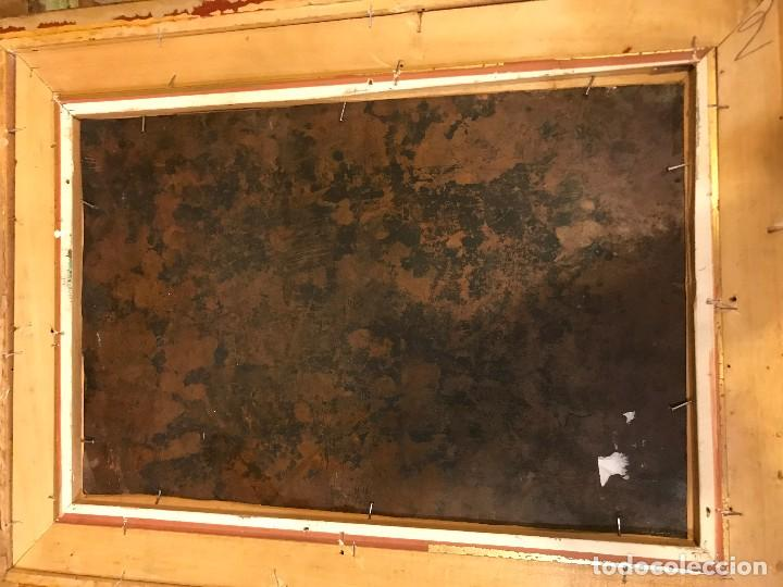 Arte: CRUCIFICADO CON MAGDALENA, OLEO SOBRE COBRE S. XVII, ESC. HISPANO FLAMENCA - Foto 24 - 117555303