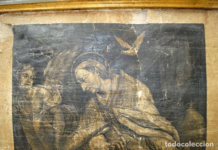 Arte: ANTIGUO PERGAMINO RELIGIOSO S. GREGORUIUS - Foto 4 - 117616287