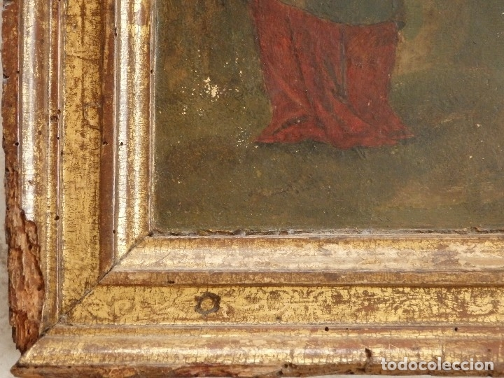 Arte: Calvario. Oleo sobre tabla. Escuela flamenca. Siglo XVI. - Foto 17 - 117955635