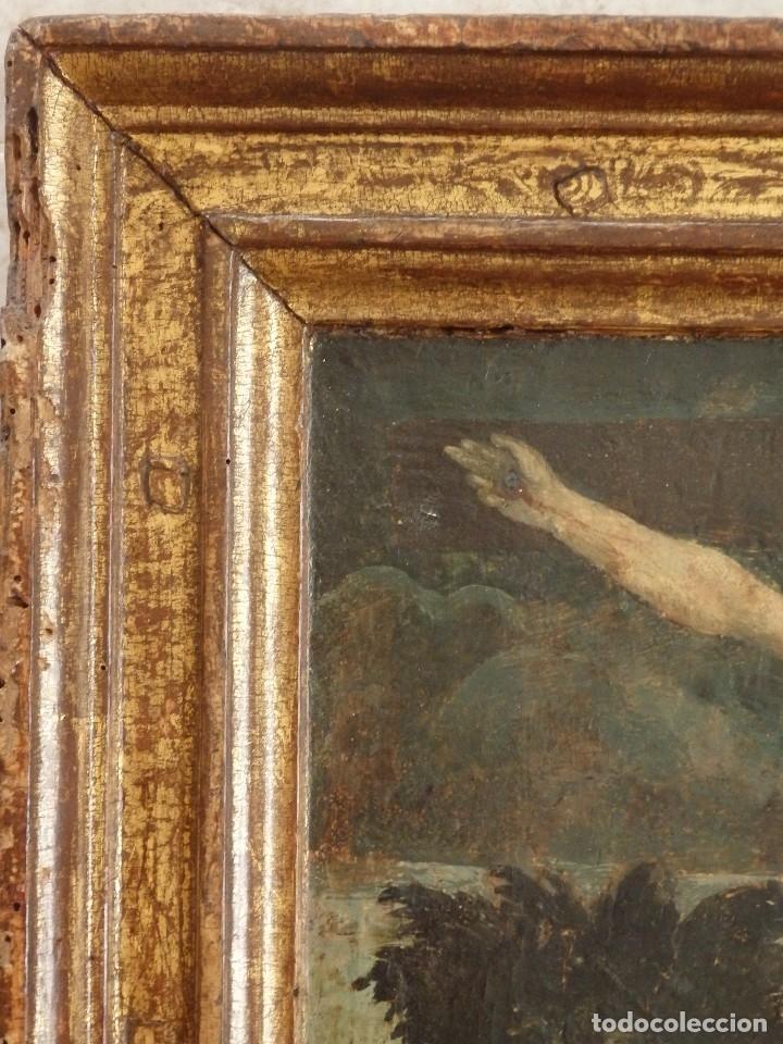 Arte: Calvario. Oleo sobre tabla. Escuela flamenca. Siglo XVI. - Foto 18 - 117955635