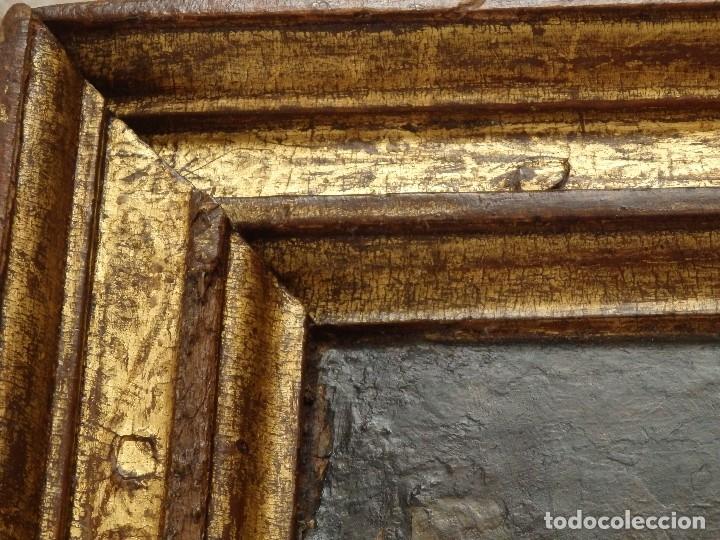 Arte: Calvario. Oleo sobre tabla. Escuela flamenca. Siglo XVI. - Foto 19 - 117955635