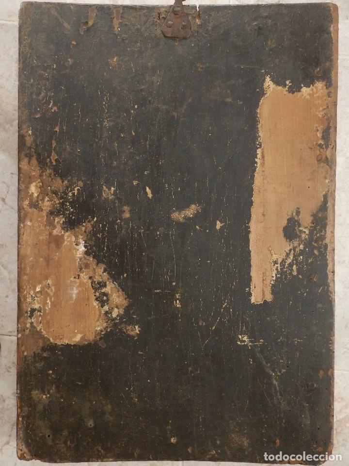 Arte: Calvario. Oleo sobre tabla. Escuela flamenca. Siglo XVI. - Foto 20 - 117955635