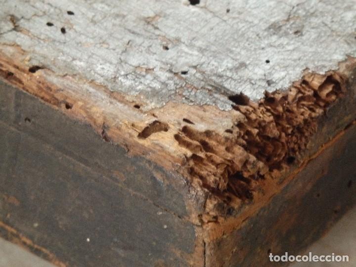 Arte: Calvario. Oleo sobre tabla. Escuela flamenca. Siglo XVI. - Foto 22 - 117955635