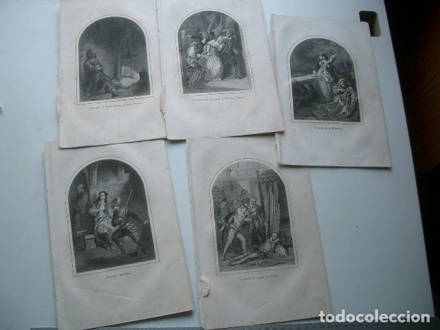 LOTE DE GRABADOS DEL XIX (Arte - Arte Religioso - Grabados)