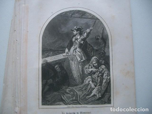 Arte: lote de grabados del XIX - Foto 7 - 118053111