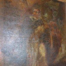 Arte: OLEO RELIGIOSO SANTO PINTURA ANTIGUA DEL BARROCO S XVII PARA NECESITA RESTAURACION. Lote 97410543
