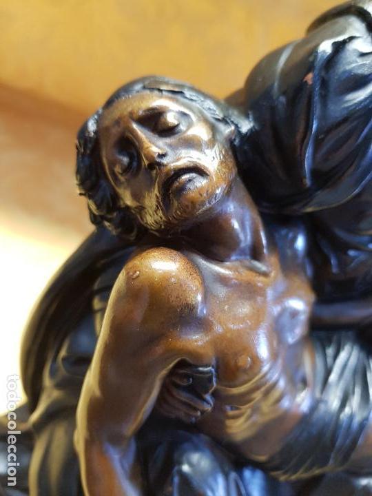 PIEDAD EN TERRACOTA (Arte - Arte Religioso - Escultura)