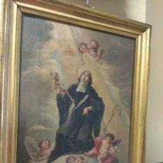 Arte: ÓLEO SOBRE LIENZO SANTA FLORENTINA - PATRONA DE CARTAGENA - JOSÉ GALLEL Y BELTRÁN. Lote 118474683