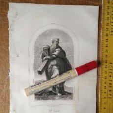 Arte: KK - REF: 1851 - GRABADO ORIGINAL RELIGIOSO AÑO 1851 - SAN ANDRES CON LA CRUZ A CUESTA. Lote 118569487