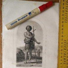 Arte: KK - REF: 1851 - GRABADO ORIGINAL RELIGIOSO AÑO 1851 - SAN JUAN BAUTISTA. Lote 118570775