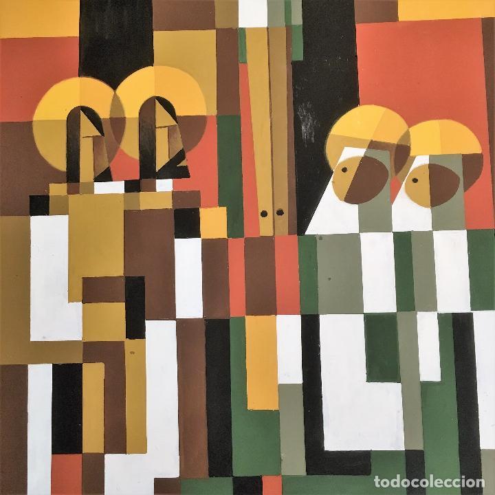 Arte: Crucifixión por Sacul (Miguel Lucas San Mateo) 1973 - Foto 7 - 118597963