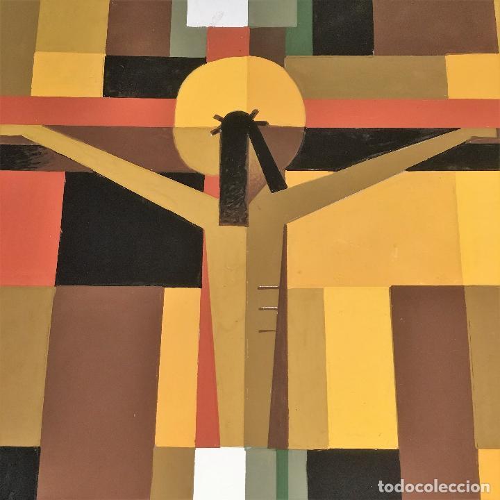 Arte: Crucifixión por Sacul (Miguel Lucas San Mateo) 1973 - Foto 10 - 118597963