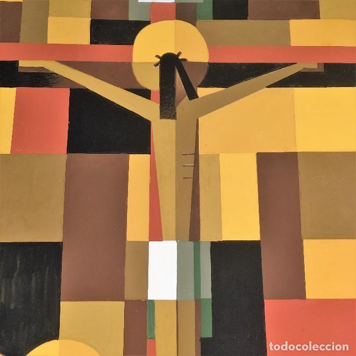 Arte: Crucifixión por Sacul (Miguel Lucas San Mateo) 1973 - Foto 16 - 118597963