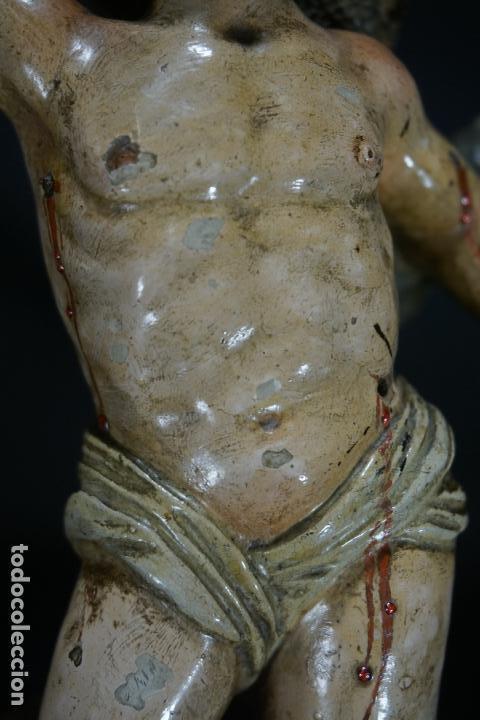 Arte: SAN SEBASTIÁN. ESCULTURA TERRACOTA. ITALIA. SIGLO XVIII. - Foto 34 - 118612499