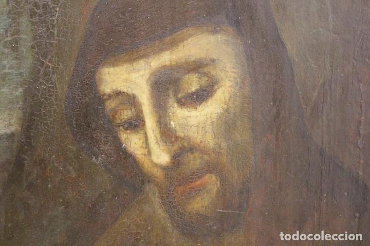 Arte: Óleo sobre tabla. Siglo XVIII - Foto 2 - 118668719