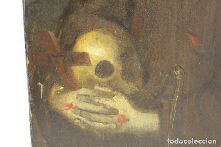 Arte: Óleo sobre tabla. Siglo XVIII - Foto 4 - 118668719