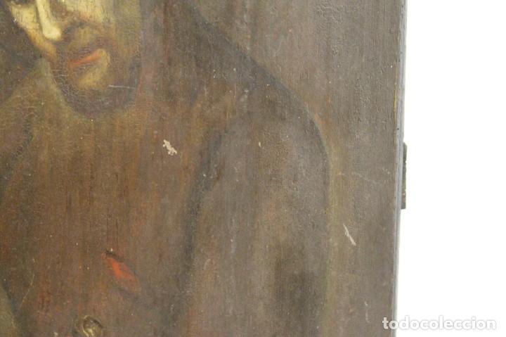 Arte: Óleo sobre tabla. Siglo XVIII - Foto 6 - 118668719