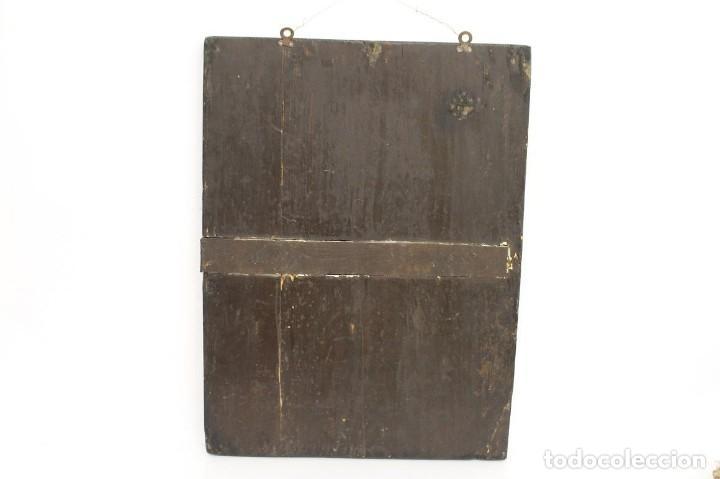 Arte: Óleo sobre tabla. Siglo XVIII - Foto 9 - 118668719