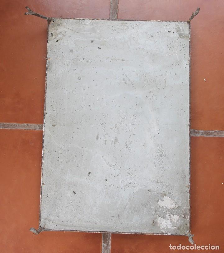 Arte: PANEL AZULEJOS CERAMICA PINTADO A MANO SIGLO XX VIRGEN DE LA CABEZA PATRONA ANDUJAR DIOCESIS JAEN - Foto 5 - 118692451