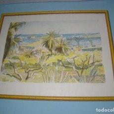 Arte: LITOGRAFÍA DE JOSEP SERRA LLIMONA. Lote 118731003