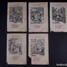 Arte: ENCHIRIDION DE EPICTETO GENTIL CON ENSAYOS DE CHRISTIANO 1669. GRABADOS DE OTTO VAENIUS. Lote 118894775