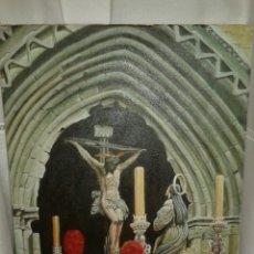 Arte: PINTURA AL OLEO PASO DE SEMANA SANTA. Lote 118955798