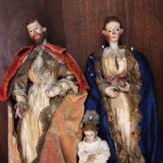 Arte: TRES TALLAS DEL SIGLO XVIII.. Lote 118995443
