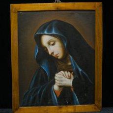 Arte: VIRGEN DOLOROSA. ÓLEOS SOBRE LIENZO. ESCUELA ITALIANA, S. XVIII.. Lote 119050775