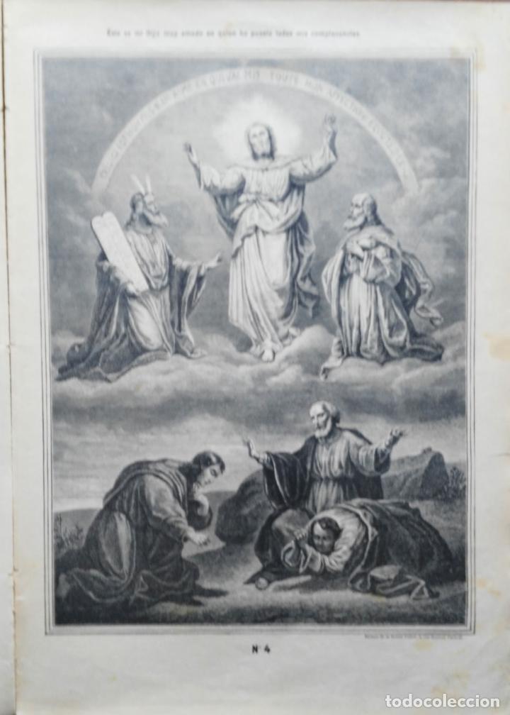 Arte: 62 GRABADOS DEL CATECISMO EN ESTAMPAS - PARIS 1909 - CASA DE LA BUENA PRENSA - Foto 3 - 119124071
