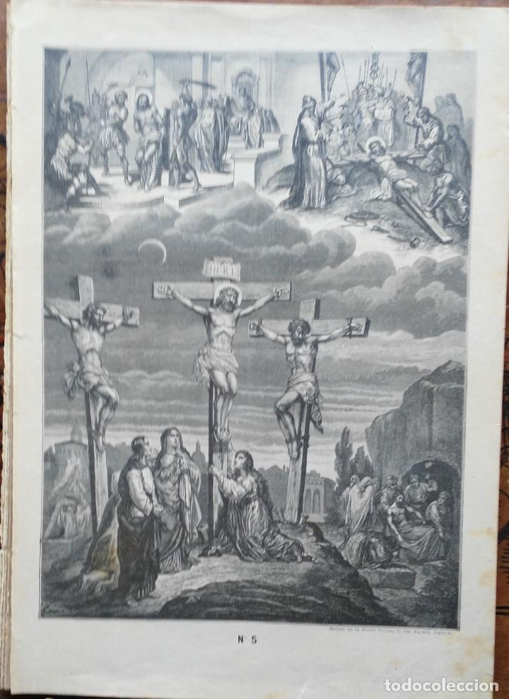Arte: 62 GRABADOS DEL CATECISMO EN ESTAMPAS - PARIS 1909 - CASA DE LA BUENA PRENSA - Foto 6 - 119124071