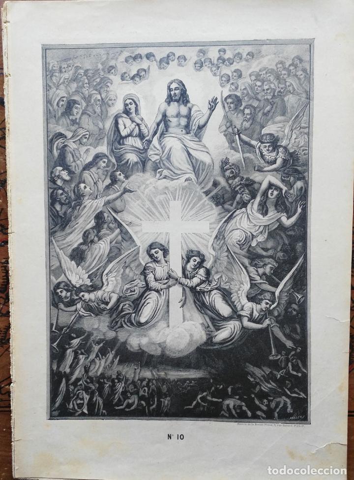 Arte: 62 GRABADOS DEL CATECISMO EN ESTAMPAS - PARIS 1909 - CASA DE LA BUENA PRENSA - Foto 7 - 119124071