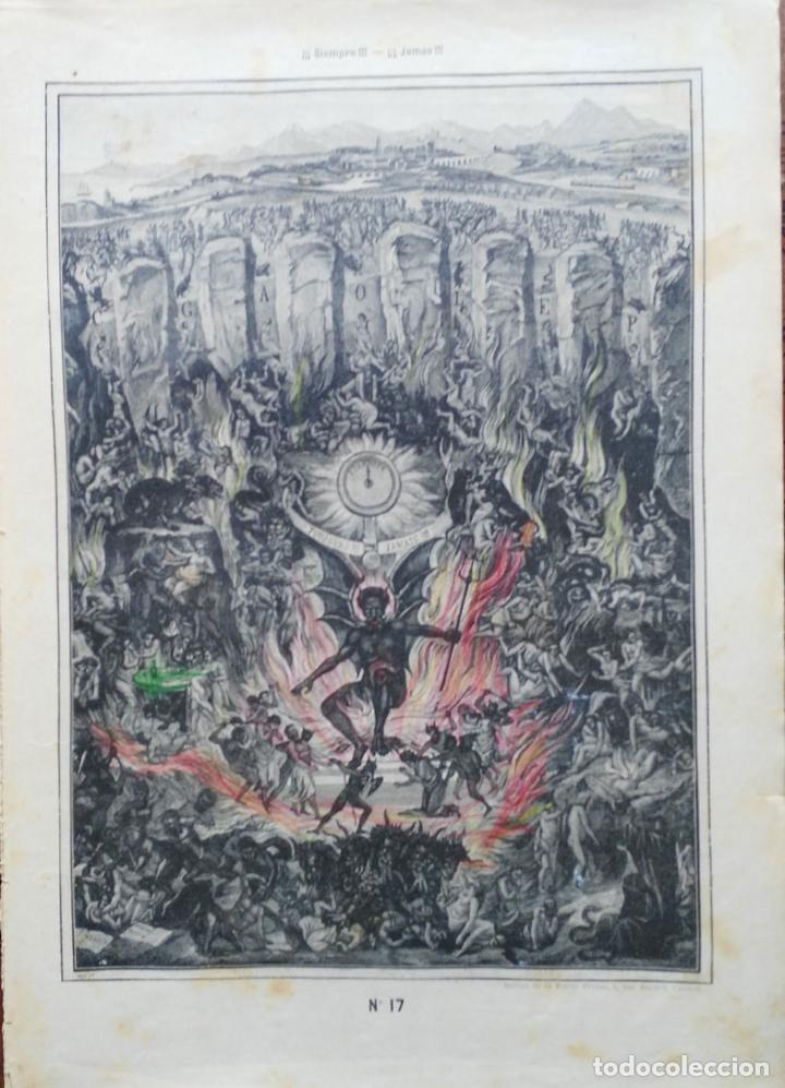 Arte: 62 GRABADOS DEL CATECISMO EN ESTAMPAS - PARIS 1909 - CASA DE LA BUENA PRENSA - Foto 8 - 119124071