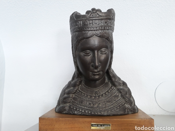 BUSTO VIRGEN DEL CLAUSTRO DE SOLSONA TAMAÑO NATURAL (Arte - Arte Religioso - Escultura)