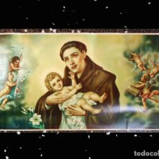 Arte: ANTIGUA LITOGRAFIA SIGLO XIX DE - SAN ANTONIO DE PADUA - EDICIONES ANGEL ALEMAN (MURCIA) Nº 14009 S. Lote 119421411