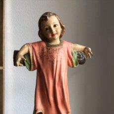 Arte: PRECIOSO NIÑO JESUS ARTE CRISTIANO OLOT. Lote 119433911