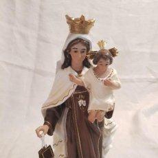 Arte: VIRGEN DEL CARMEN , FABRICADA EN OLOT.. Lote 119440135