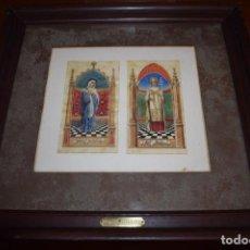 Arte: UTRILLO - DIBUJOS ORIGINALES EN COLOR. Lote 119473551