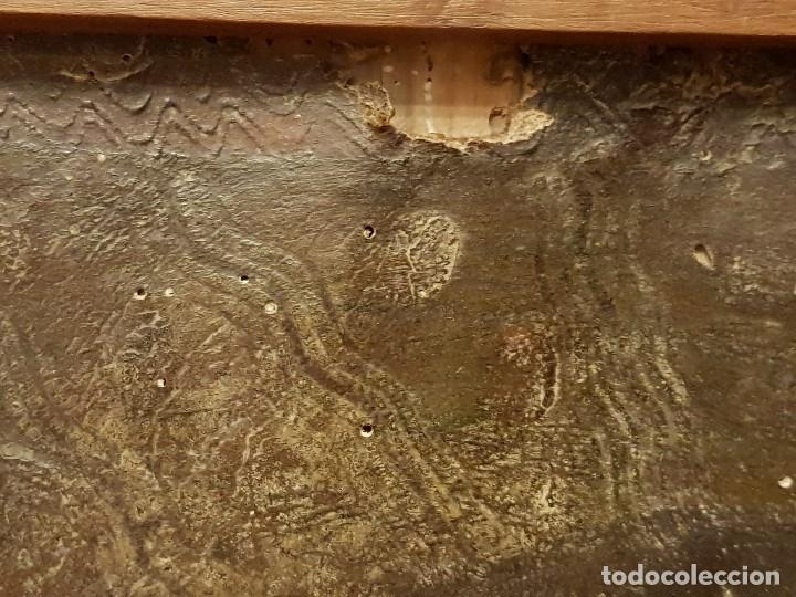 Arte: Pintura sobre cuero repujado. Cordobán de la Santa Faz. Escuela española siglo XVI - Foto 5 - 119484439