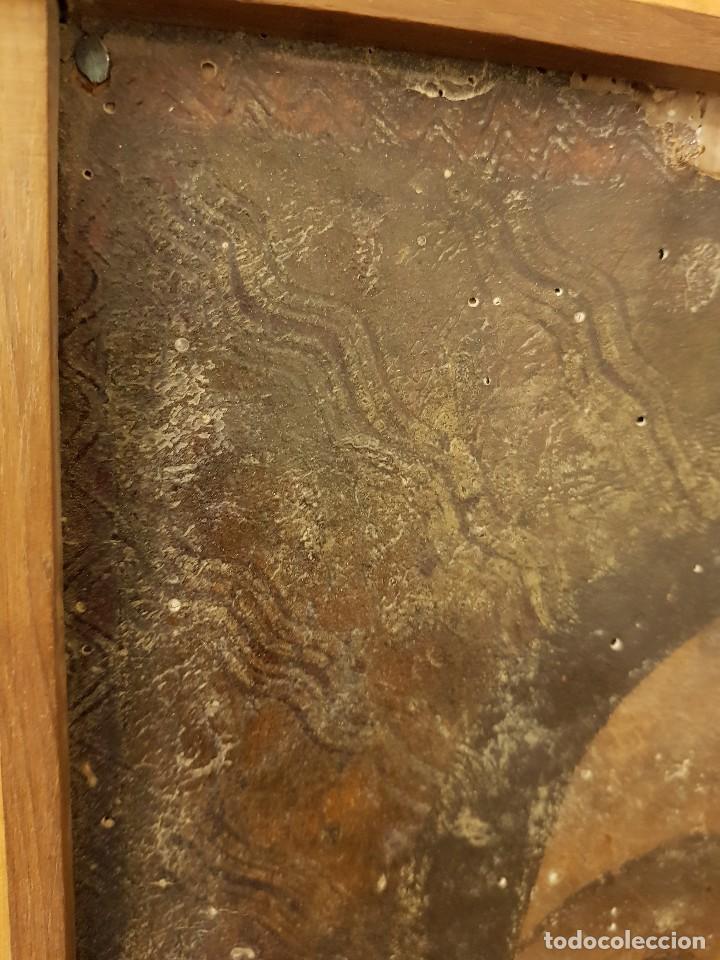 Arte: Pintura sobre cuero repujado. Cordobán de la Santa Faz. Escuela española siglo XVI - Foto 9 - 119484439