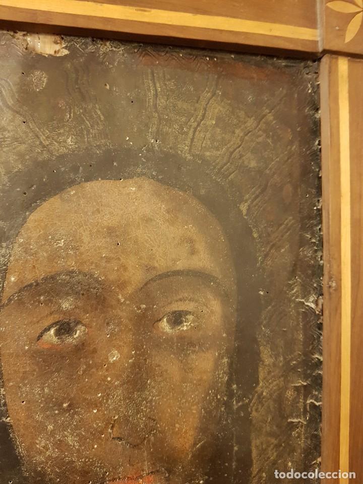 Arte: Pintura sobre cuero repujado. Cordobán de la Santa Faz. Escuela española siglo XVI - Foto 10 - 119484439