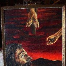 Arte - Oleo Cristo surrealista - 119484851