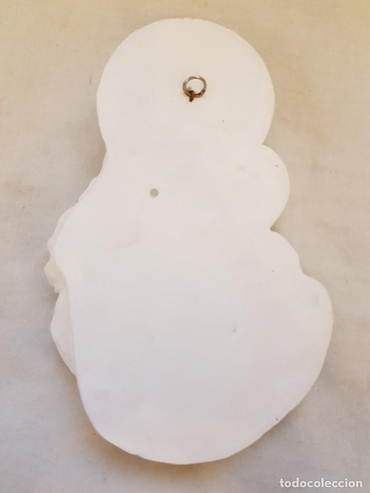 Arte: Virgen con Niño de escayola - Foto 3 - 119485699